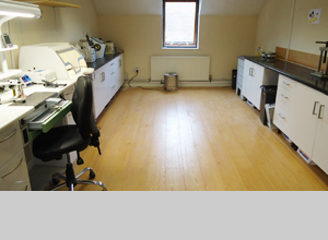 Our Modern Laboratory in Droitwich